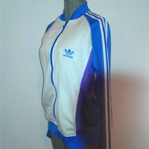 adidas track jacket color block sample size 50 S M
